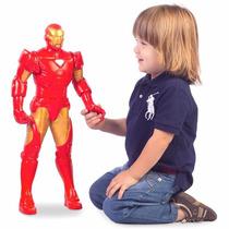 Boneco Homem De Ferro Gigante 55cm Mimo Marvel
