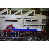 Corgi 1:50 Caminhão Scania T + Carreta Transporte De Carga