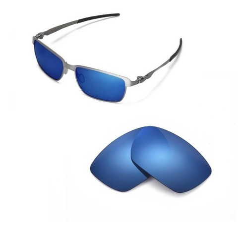 ba27b0988 Lente Magic Blue Polarizada P/ Oakley Tinfoil Oo4083 Oferta