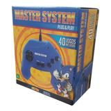Master System Plug & Play Com 40 Jogos - Tectoy