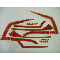Faixa Cb450 Custom 86 Vinho
