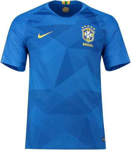 Camisa Seleção Do Brasil Uniforme 2 2018 Frete Grátis. R  120 5f5495552d4f1