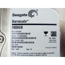 Hard Disk Sata Seagate 1 Tb Original Nova + Garantia