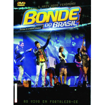 Dvd Bonde Do Brasil Ao Vivo Em Fortaleza Original + Frete Gr