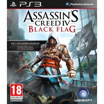 Jogo Assassins Creed 4 Black Flag Para Ps3/semi Novo/barato!