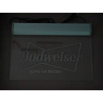 Placa Luminosa Neon - Budweiser