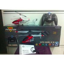 Helicóptero Aeromodelismo Candide Phanton H-18 Controle Novo