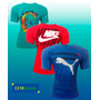 Kit Com 6 Camisas Camisetas Hollister Lacoste Bordadas