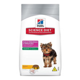 Ração Hill's Science Diet Cachorro Filhote Raça Mini/pequena Frango 3kg