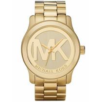 Relogio Michael Kors Mk5473 Dourado Caixa Manual Sedex
