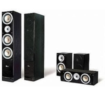 Kit De Caixa Home Theater 5.0 Pure Acoustics Qx900 Preto