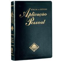 Bíblia De Estudo Aplicação Pessoal Gd Preta