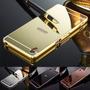Bumper Celular Sony Xperia Z2 + P/ Vidro + 1 Tampa Espelhada