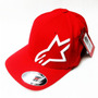 Boné Alpinestars Flexfit Original Corp Shift 2 Red L/xl G/gg