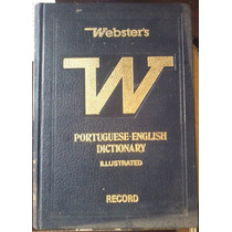 Websters Portuguese English Dictionary Illustrated 4 Volumes