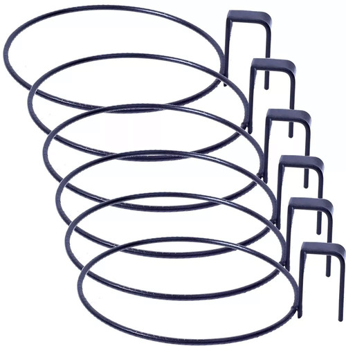 6 Suporte De Treliça Para Vaso Auto Irrigável Médio 14 Cm