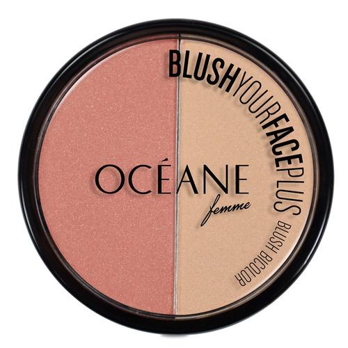 Blush Your Face Plus Océane - Duo De Blush Coral