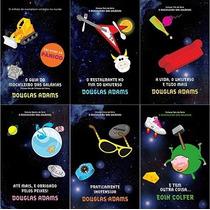 Kit Livros Coleção Guia Do Mochileiro Das Galáxias 6 Edições
