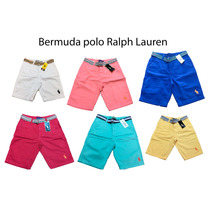 Short Bermuda Polo Ralph Lauren Bermuda Polo Customizado