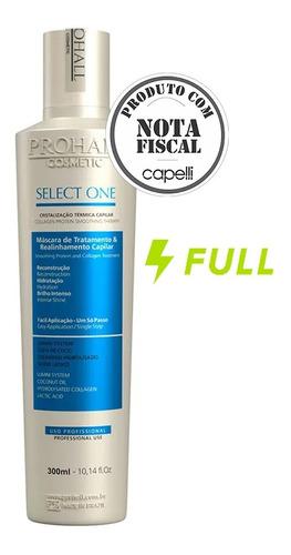 Select One Prohall Progressiva 300ml Original Nota Fiscal