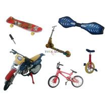 Bicicleta Dedo Skate Dedo Motocicleta Dedo Patinete - Kit