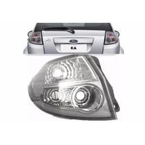 Lanterna Traseira Ford Ka 2008 A 2013 Cristal Lado Esquerdo