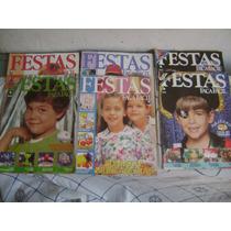 Revista Festas - Faça Facil Lote Com 06 Revista