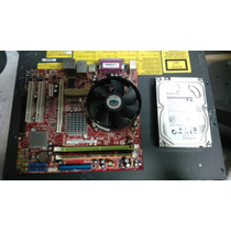 Kit Placa Mãe Ms-7267 Lga 775 Core 2 Duo/dual Core Hd 2tr