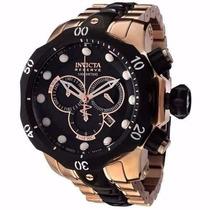 Relógio Masculino Invicta Venom Preto/rose 5728 Promocional