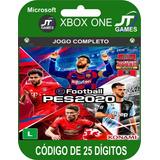 Jogo Pes 2020 Xbox One - Midia Digital- Codigo 25 Digitos