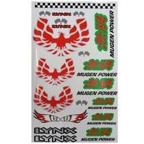 Cartela De Adesivos Mugen Power P/ Bolhas - Lynx