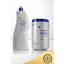 Sachê Kit Matizador Extreme Silverway-máscara 1kg+shampoo 1l