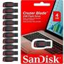 Kit Com 10 Pen Driver De 4gb Sandisk Original Lacrado
