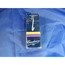 Palhetas Vandoren Clarone Baixo (clarinete) 2,5 (cx C/ 05)