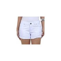Short Feminino Em Jeans Com Puídos People