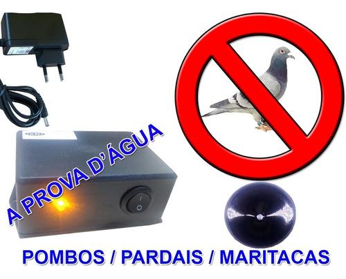Repelente Eletrônico Espanta Pombo Pardal Maritaca Andorinha