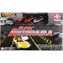 Super Autorama Dmx Racer Estrela Original