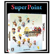 Theatrhytm Final Fantasy 3d - Para Nintendo 3ds - Americano