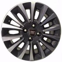 Rodas Fiat Linea Zk240 - Aro 18 - Pr - Prata
