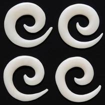 Alargador Piercing Espiral Caracol 2, 3, 4, 5, 6, 8 E 9mm