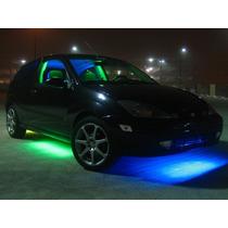 Kit Neon Externo! P/ Gol Golf Uno Celta Palio Corsa 6 Barras
