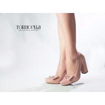 Sapato Salto Alto Scarpin Nude Glitter Festa Lindo Feminino