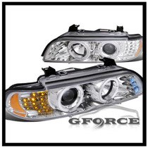 Tuning Imports Par Farol Projector Angel Eyes Bmw E39 95-03