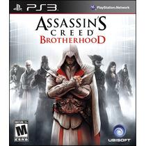 Assassins Creed Brothehood Psn Ps3 Envio Já Ação Aventura
