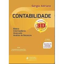 Livro Em Pdf Contabilidade Geral 3d - 2016 - Sérgio Adriano