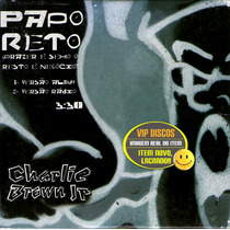 Charlie Brown Jr Cd Single Papo Reto 2 Versões - Raro