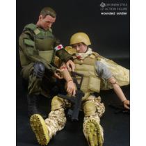 Boneco De Brinquedo Exercito Coleção Combate Jogo Arma Fogo