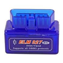Mini Scanner Automotivo Obdii Obd2 Elm327 Bluetooth