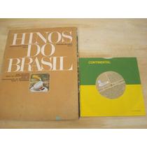 Revista Hinos Do Brasil - 1970 - Contém Um Disco ( Vinil )