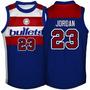 Nba Bullets Chicago Bulls Michael Jordan Washington Wizards